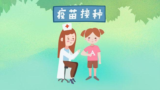 手繪動漫 @家長們,一起來看看寶寶接種疫苗的那些事