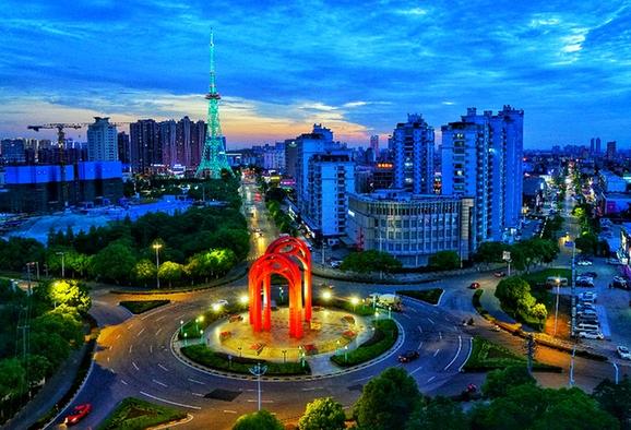 海門城市發展日新月異