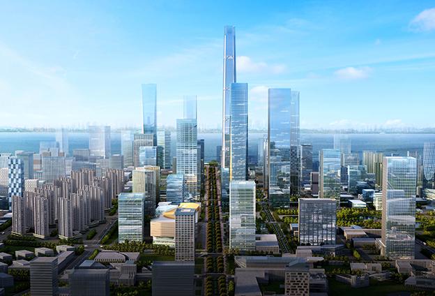 三組數據看南京江北新區五周年發展