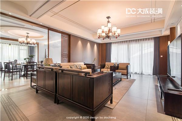 【大成新作】九洲豪廷苑   700㎡ 中式風格