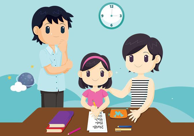 @父母們,輔導作業太崩潰?你不妨這樣做……