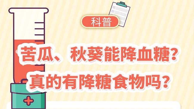 科普|苦瓜、秋葵能降血糖?真的有降糖食物嗎?
