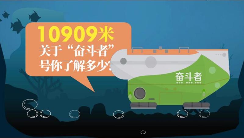 """10909米!關于""""奮鬥者""""號你了解多少?"""