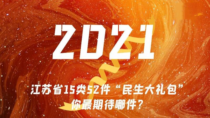 """2021年江蘇""""民生大禮包"""",你最期待哪件?"""