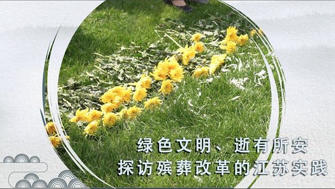 綠色文明、逝有所安 探訪殯葬改革的江蘇實踐