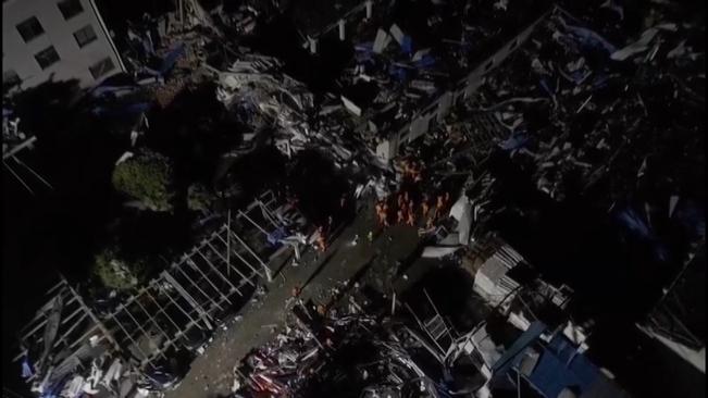 直擊現場|蘇州盛澤鎮遭龍卷風襲擊