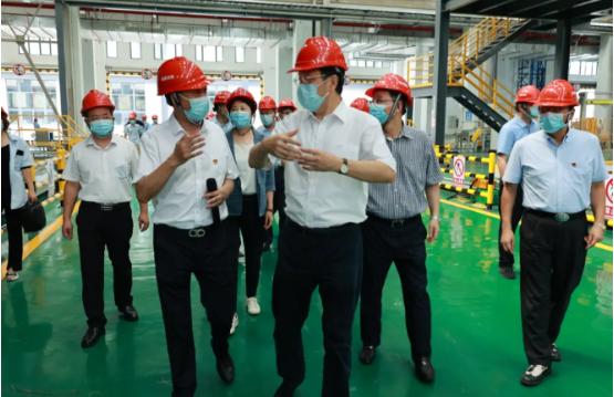 楊岳在南京調研非公有制企業疫情防控工作