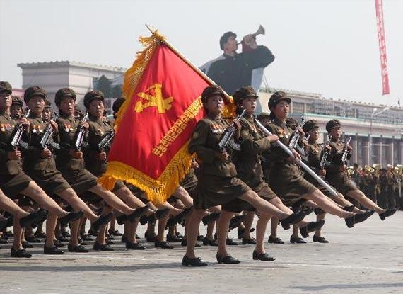 朝鲜/哪个国家的阅兵最震撼?...