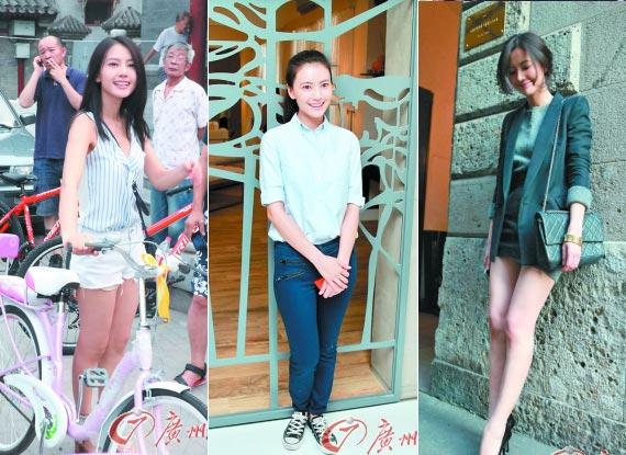 韩国女主播玫瑰学生装