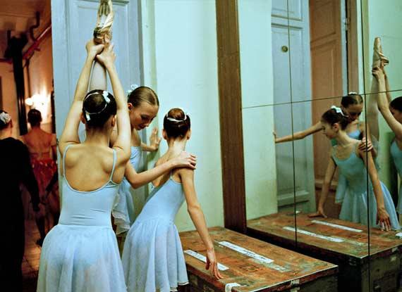 俄罗斯芭蕾舞学生的生活