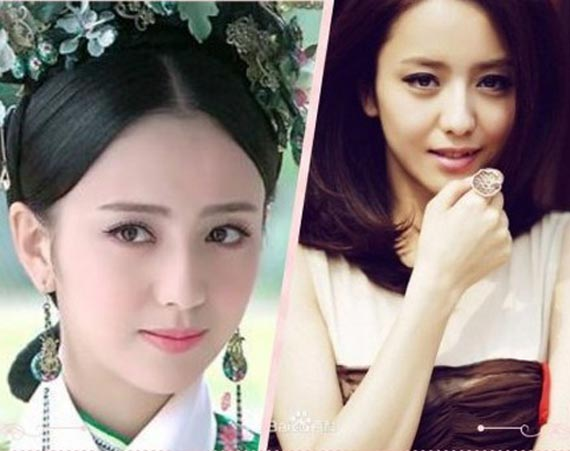 佟丽娅赵丽颖 女星现代装古装哪个更惊艳?