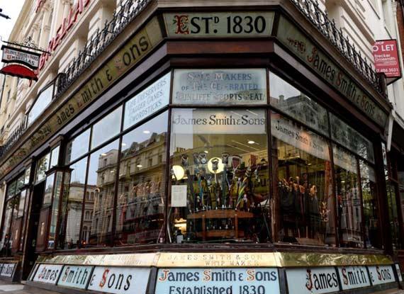 英百年老店堅持傳統依舊繁榮發展