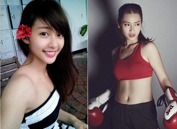 爆紅!越南17歲清純拳擊妹